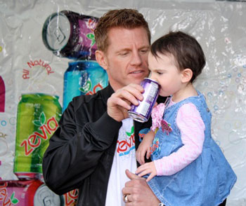 Paddy Spence, CEO of Zevia